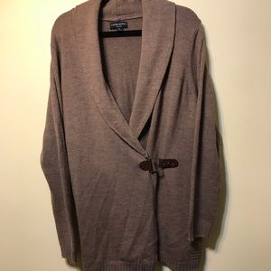 Cynthia Rowley buckle cardigan